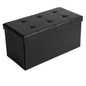 Hide food in an ottoman with storage