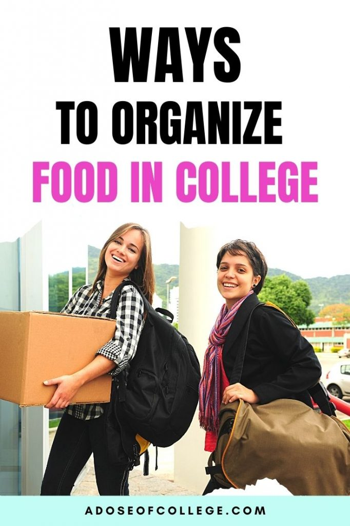 How To Organize Your Food In College 1 of 9