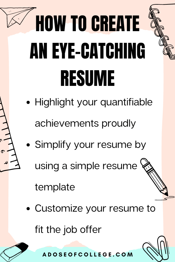 How to boost your college resume 4 of 7