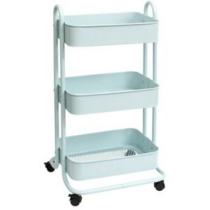 Store food in a storage cart