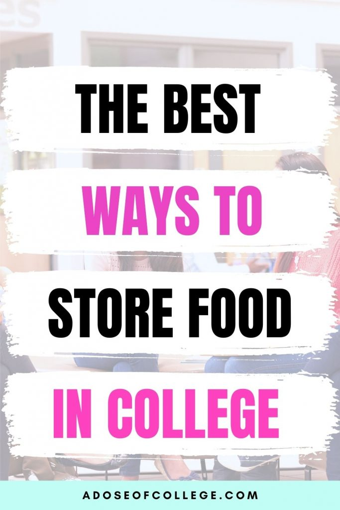 Tips to help you store food in your dorm room 1 of 9