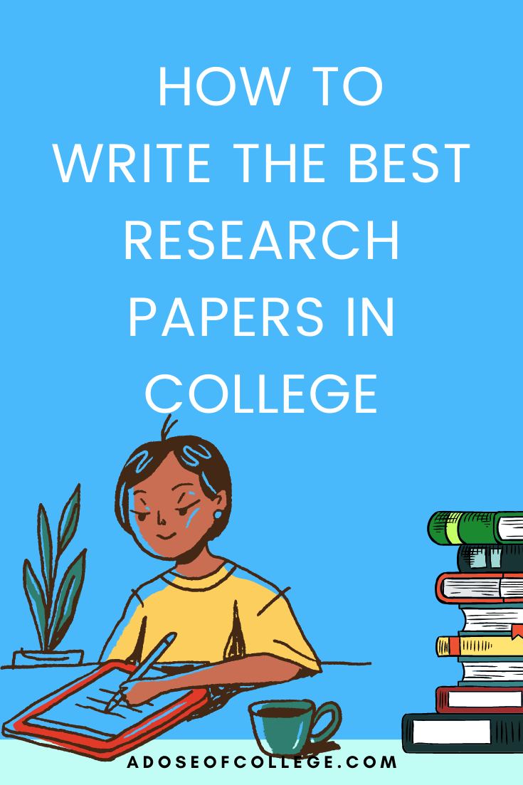 10 Easy Steps For Writing Research Papers In College 1 of 3