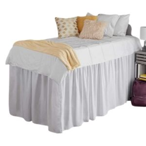 Dorm Bedding Essentials Extended Bed Skirt