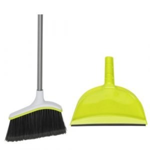 Dorm Cleaning Supplies Broom and Dustpan