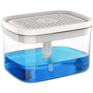 Dorm Cleaning Supplies Dishwashing pump dispenser and sponge holder