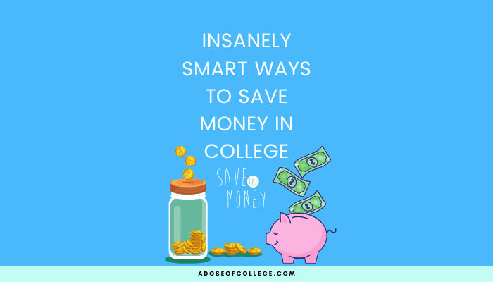 Save Money In College 21