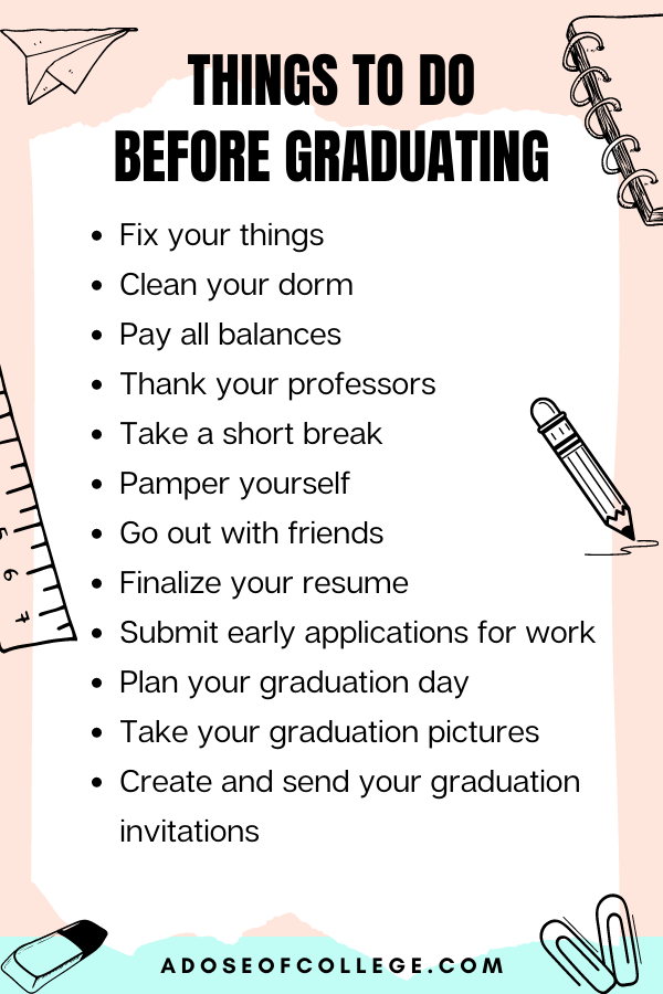 Things To Do Before Graduating From College 6 of 6