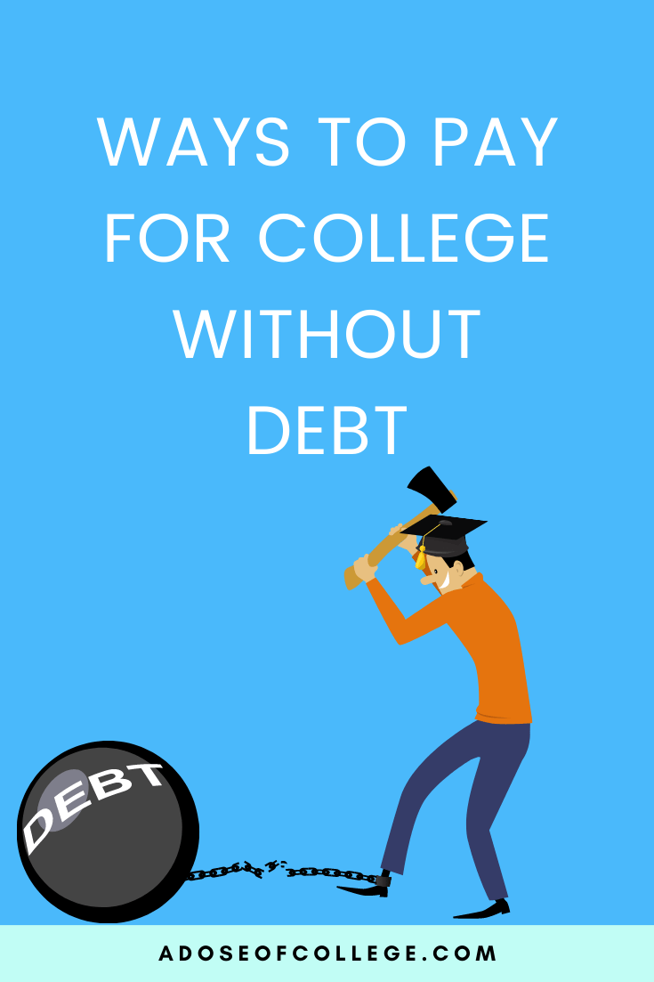 Ways To Pay For College Without Student Loans 1 of 3