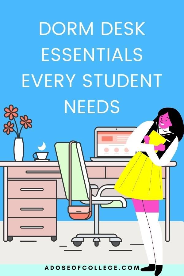 Dorm Desk Essentials 1 0f 20